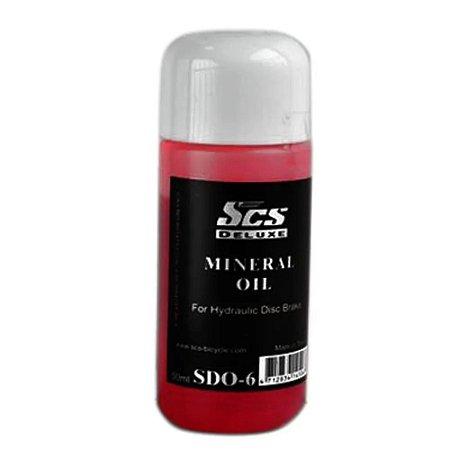 Óleo Mineral Scs Deluxe Sdo-6 Para Freio Hidráulico 50ml - Unidade