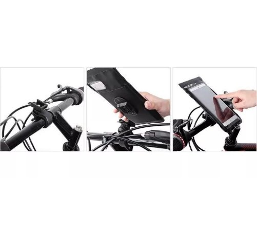 Bolsa Smartphone Touch Skin Bicicleta Suporte Celular Bike Sport