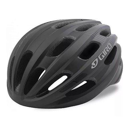 Capacete Ciclismo Bike Giro Isode Pro Preto Fosco 54-61