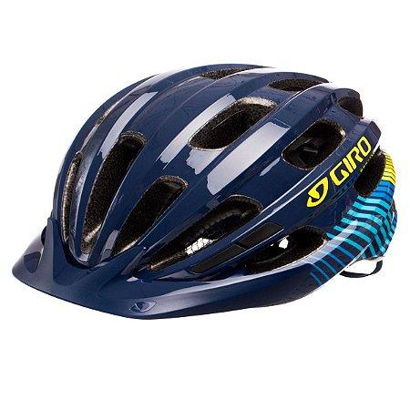 Capacete Ciclismo Bike Giro Vasona Pro Azul Escuro 50-57