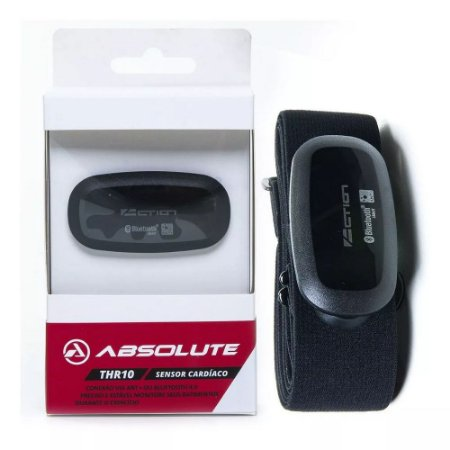 Sensor Cardíaco Monitor Cinta Absolute Thr10 Ant+ Bluetooth