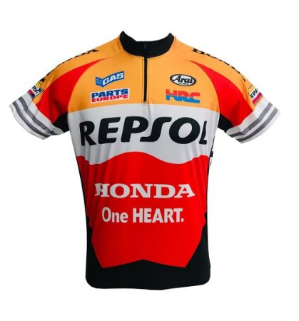 Camisa Masculina Ciclismo Repsol Speed MTB da RVB