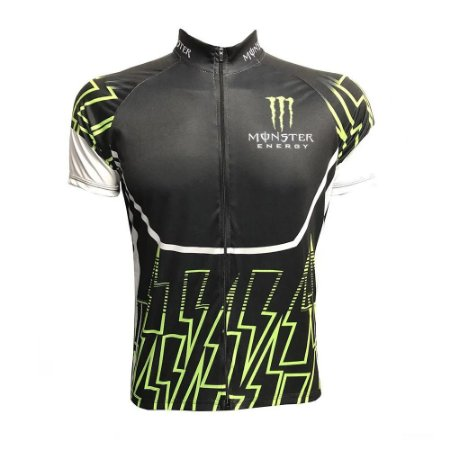 Camisa Masculina Ciclismo Monster Energy Speed MTB da RVB