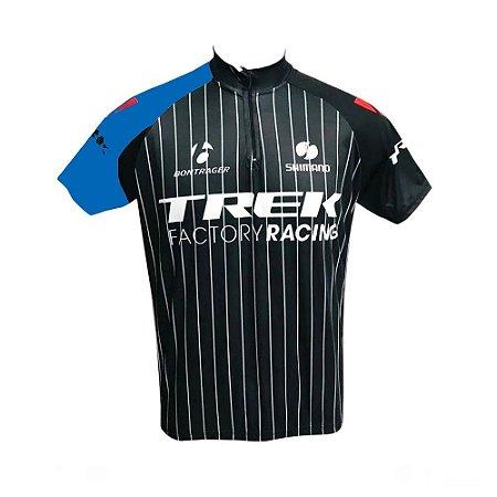 Camisa Masculina Ciclismo Trek Factory Racing Speed MTB RVB