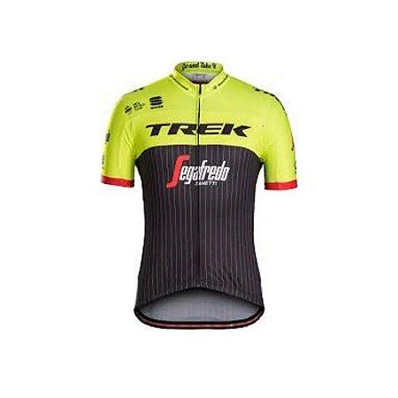 Camisa Masculina Ciclismo Trek Segafredo Zanet Speed MTB RVB