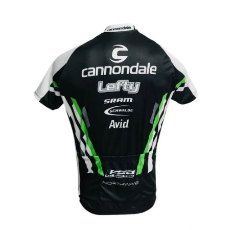 Camisa Masculina Ciclismo Cannodale Lefty Pro Speed MTB RVB