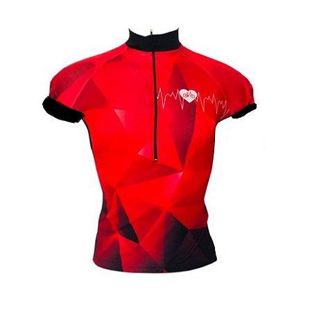Camisa Feminina Ciclismo Be Fast Brasil Pro Speed MTB RVB