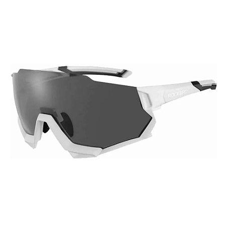 Oculos Ciclismo Rockbros RB-SP176 Troca Lentes C/ Clip Branco