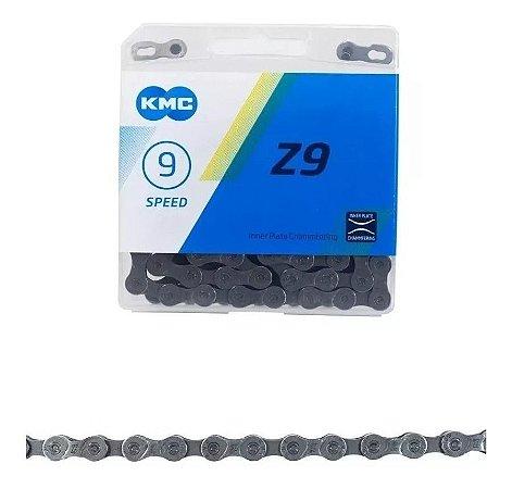 Corrente Kmc Z9 9v 27v Com Missing Link 116l Index Mtb Bike