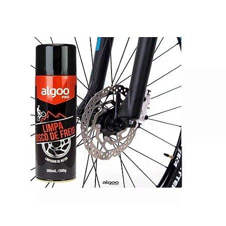 Limpa Disco De Freio De Bicicleta Algoo Pro Spray 300ml