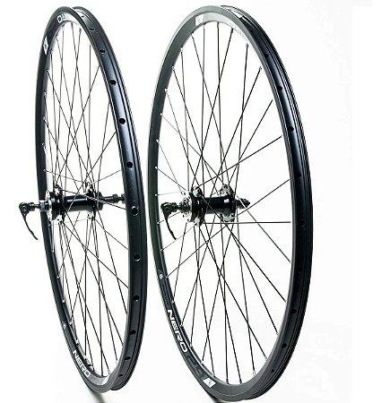 Roda Absolute Nero Aro 29 Bike Disco Mtb Catraca Roda Livre Rolamento - Par