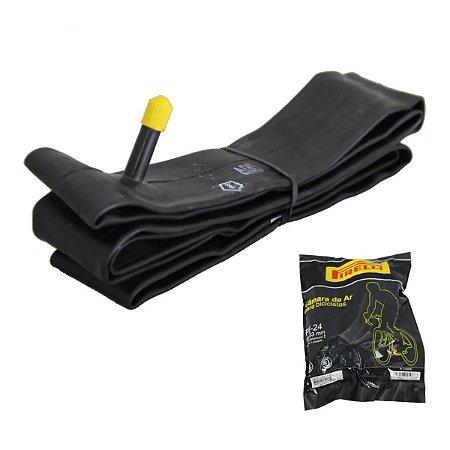 Camara De Ar Pirelli Bicicleta Aro 24x1.3/8 Pb Cadeira Roda