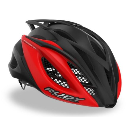 Capacete Ciclismo Rudy Project Racemaster BLK RED Bike Tam S-M