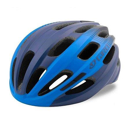 Capacete Ciclismo Giro Isode Azul Bike Proteção Bicicleta