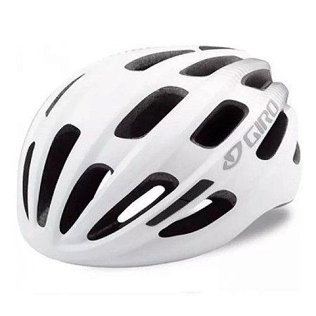 Capacete Ciclismo Giro Isode Branco Bike Proteção Bicicleta