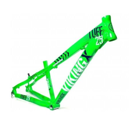 Quadro Viking X Tuff 29x Freeride Dirt Jump Verde Neon DH