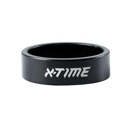 Espaçador Direção Tsw X-Time Arruela Calço 10mm Preto