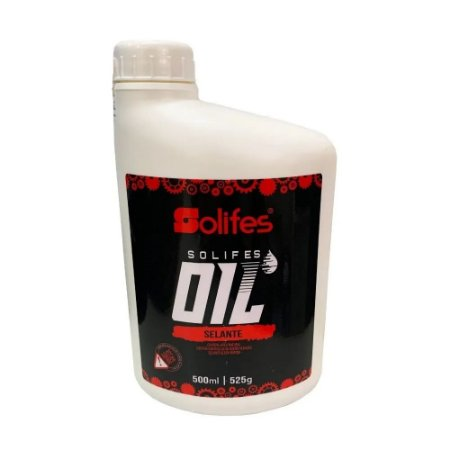 Selante Tubeless Liquido Pneu Solifes Ultrarapido 500ml Bike
