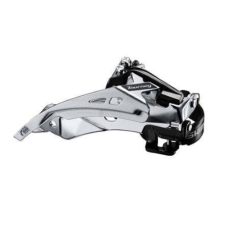 Cambio Dianteiro Shimano Tourney FD-TY710 Duplo 34.9mm T Swing Dual Pul