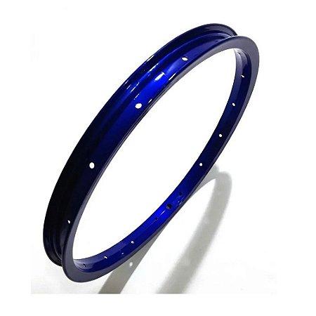Aro Bicicleta 16 Vzan 16f Azul Alumínio Infantil Unidade