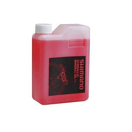 Fluido Mineral Shimano P/freio A Disco 1 Litro