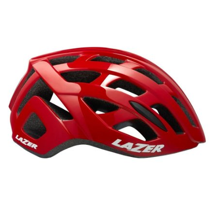 Capacete Ciclismo Speed Lazer Tonic Vermelho LZB-10 TAM M