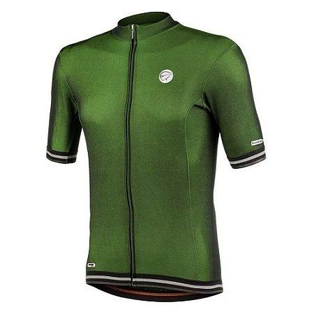 Camisa Ciclismo Mauro Ribeiro Adapt Verde Masculina Bike Mtb Speed - G