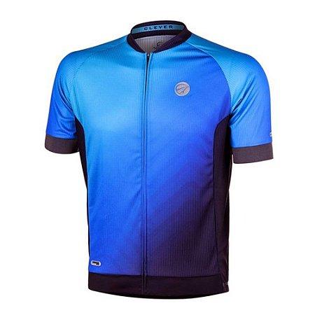 Camisa Ciclismo Masculina Mauro Ribeiro Clever Azul Bike Mtb Speed - 3G