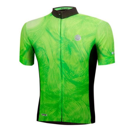 Camisa Ciclismo Mauro Ribeiro Masculina Guide Verde Bike Mtb Speed - M
