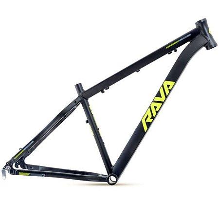 Quadro 29 Bike Mtb Rava Pressure 15,5 Preto/Verde