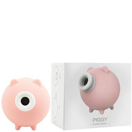 Estimulador Feminino Formato Porquinho com 10 Modos de Ondas de Pressão –
