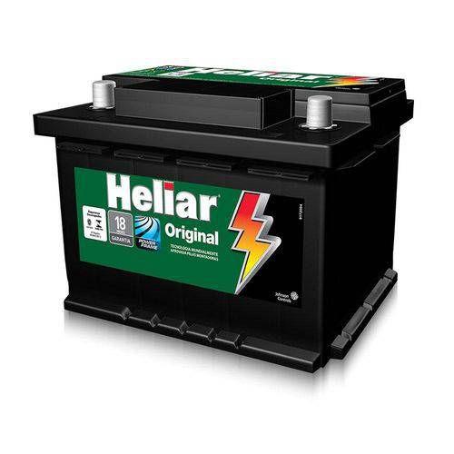 Bateria Heliar 60Ah – HGR60HD Original de Montadora ( Cx. Alta )