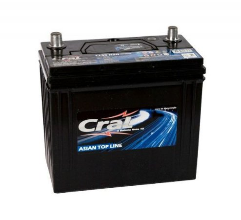 Bateria Cral 50Ah CL50NSD/CL50NSE - Linha Top Line (Cx. Alta)