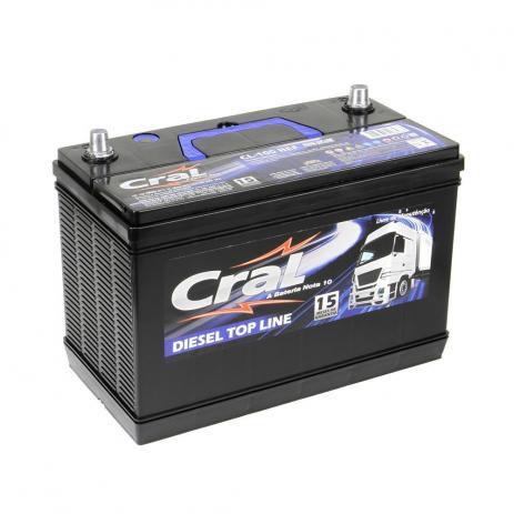 Bateria Cral 100Ah CL100-HEF - Linha Top Line