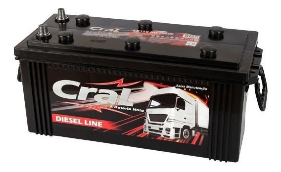 Bateria Cral 150Ah CB150D - Diesel Line