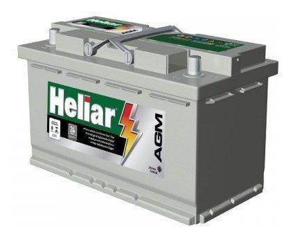Bateria Heliar AGM 95Ah - AG95MD -  C/ Start-Stop