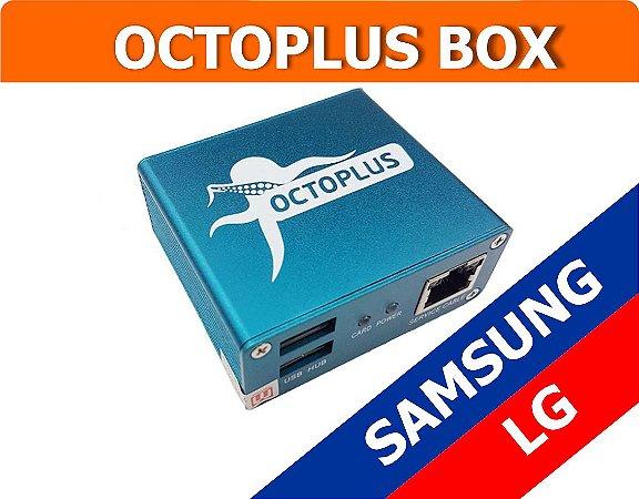 Octoplus Box Ativada Samsung e LG Full + 30 Dias de Suporte Técnico Gratuito