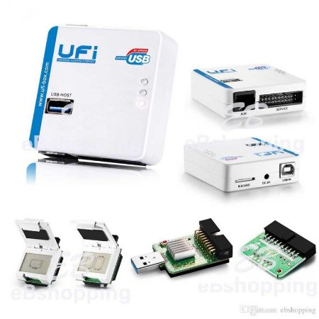 UFI Box + Adaptadores + 30 Dias de Suporte Técnico Online