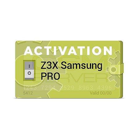 Ativação Z3X Samsung Tool PRO
