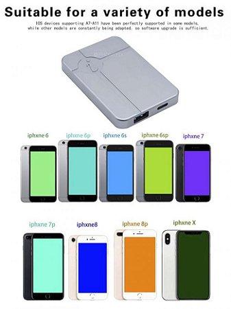 MINI IBOX DFU - Edição de NAND sem desmontar o aparelho Suporte Iphone 6 ao X