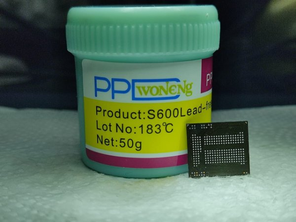 Pasta De Solda PPD S600 Lead Free 183 ºc 50 gramas.
