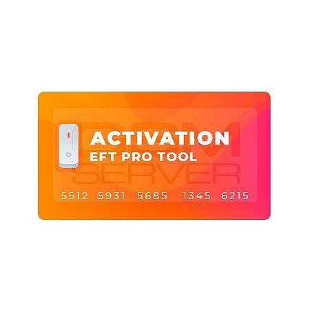 EFT Pro Tool Ativação Digital (12 Meses) Obs.: Não requer Dongle ou Box