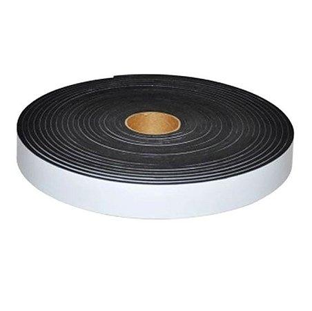 Fita de Vedação em Espuma de EPDM Preto - 10mm x 35mm x 5m