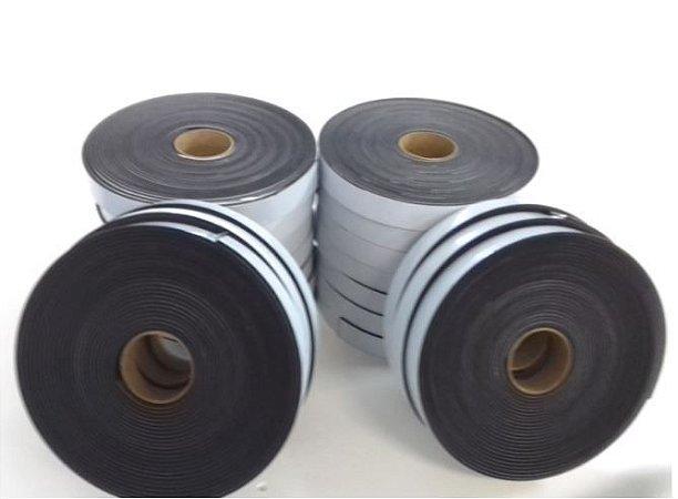 Fita de Vedação em Espuma de EPDM Preto - 3mm x 30mm x 10m - KIT COM 20 ROLOS
