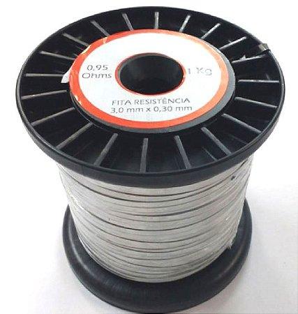 Fita de Níquel-Cromo (NiCr-80/20) Para Seladora 0,3mm X 3mm X 141m