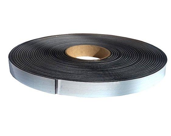 Fita de Vedação em Espuma de PVC Preto - 6mm x 25mm x 10m