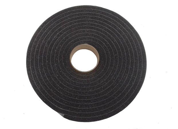 Fita de Vedação em Espuma de Poliuretano Cinza - 10mm x 12mm x 5m