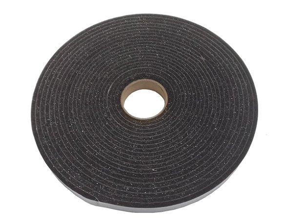 Fita de Vedação em Espuma de Poliuretano Cinza - 5mm x 20mm x 10m