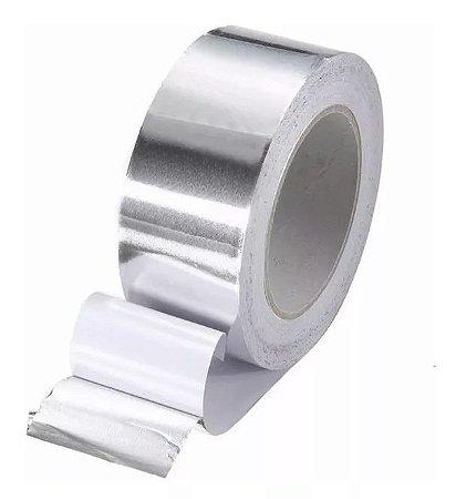 Fita de Alumínio 50 micra x 48 mm x 30 metros