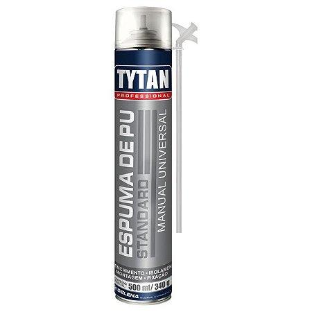 Espuma Expansiva de Poliuretano Standard Tytan 340g / 500 ml